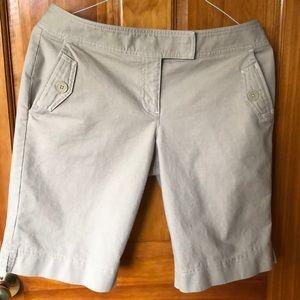 Ann Taylor Loft Bermuda Shorts
